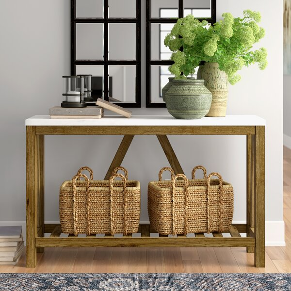 "Three Posts™ Offerman 52"" Console Table & Reviews 