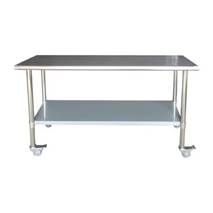 Lewallen Commercial Rolling Prep Table