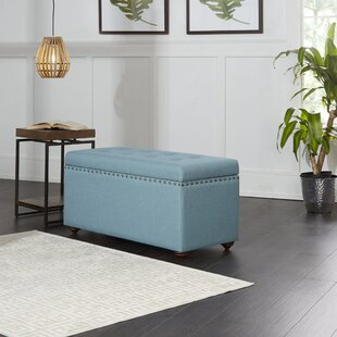 Adeline Upholstered Storage Bench by Alcott Hill