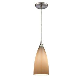 Block 1-Light Bell Pendant..