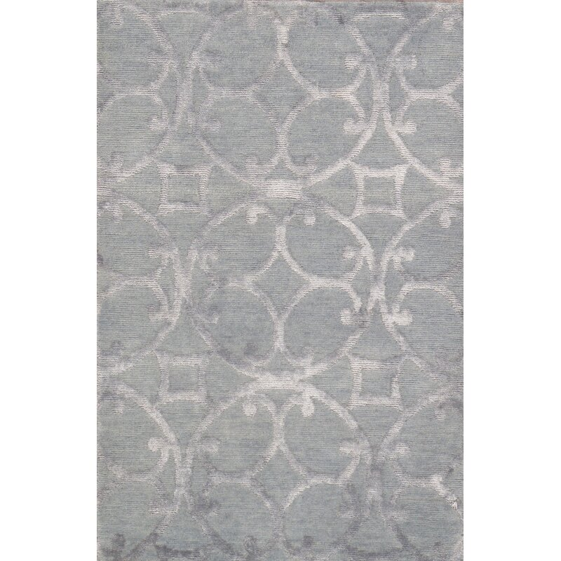 Pasargad Modern Hand Knotted Wool Silk
