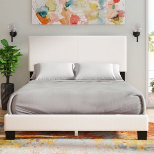 Haskin Padded Upholstered Panel Bed by Latitude Run