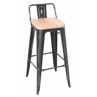 Bakewell 37 Bar Stool (Set of 2) by Gracie Oaks