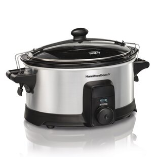 6 Qt. Stay or Go IntelliTime Slow Cooker