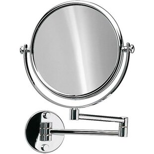 Savings Knap Double-Sided Extendable Makeup/Shaving Mirror By Symple Stuff