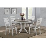 Henriques 5 Piece Dining Set by Ophelia & Co.