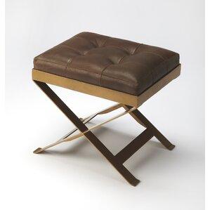 Rodrigo Leather Vanity Stool  sc 1 st  AllModern & Modern Vanity Stools + Benches | AllModern islam-shia.org