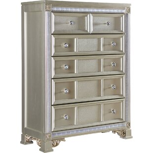 Fairfax Home Collections Tiffany 6 Drawer Ch..