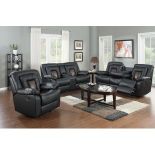 Affordable Pals 3 Piece Reclining Living Room Set by Red Barrel Studio Reviews (2019) & Buyer's Guide