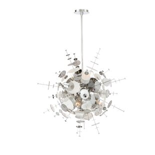 Orren Ellis Suai Retro 9-Light Chandelier