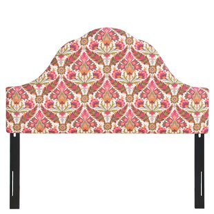 Mistana Arched Upholstered Panel Headboard