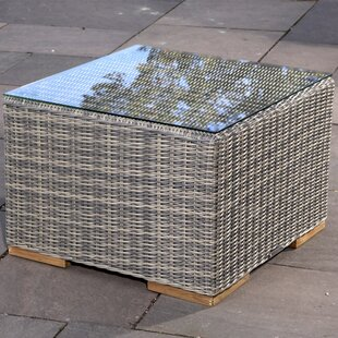 Corsica Glass Side Table by Madbury Road