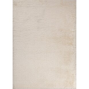 Best Price Bryana Ivory/White Area Rug By Orren Ellis
