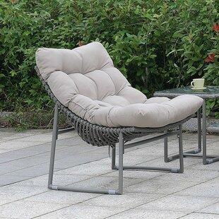 Ivy Bronx Cermenho Patio Chair with Cushion