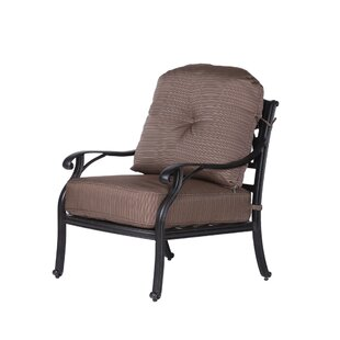 Germano High Back Club Chair with Cushion