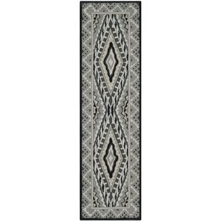 Puri Ivory/Grey Outdoor Area Rug By Bungalow Rose