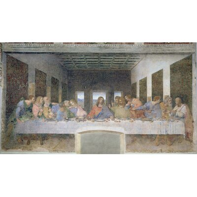 Da Vinci The Last Supper (15th) Wall Mural Part 30