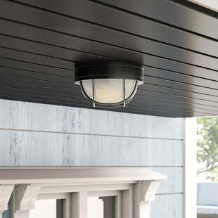Dwight Outdoor Bulkhead Light by Charlton Home