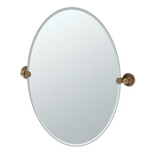 Bathroom Mirrors Bronze bathroom & vanity bronze mirrors you'll love | wayfair