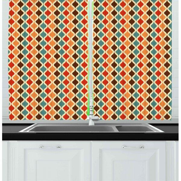 Retro Kitchen Curtains Wayfair