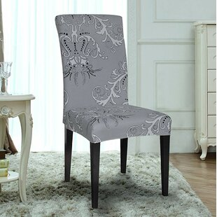 Printed Stretch Dining Chair Slipcover