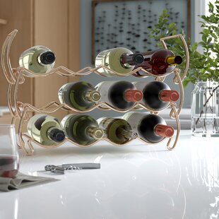 Eastway Metal Detachable 14 Bottle Tabletop Wine Rack