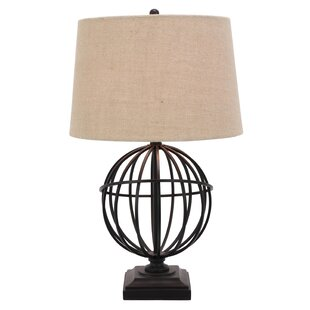Best Peavey 17.25 Table Lamp By World Menagerie