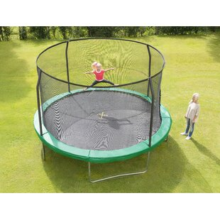 Combo Backyard Trampoline With Safety Enclosure By JumpKing