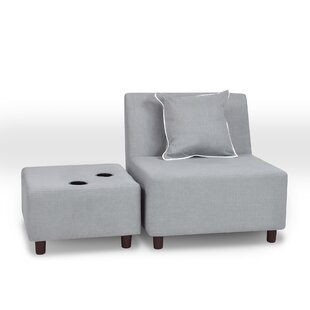 Reign Club Chair And Ottoman