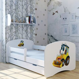 Excavator Los Convertible Toddler Bed With Drawer By Zoomie Kids