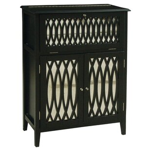 Meyer 2 Door Wine Accent Cabinet by Rosdorf Park