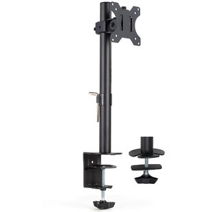 Single Monitor Tilting Desk Mount Stand for 20  27 LCD Screens