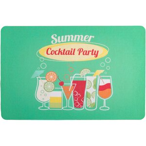 Garden Cocktail Party Floor Mat