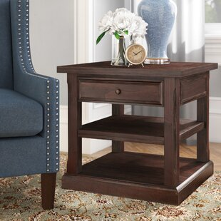 Best Roxborough End Table By Three Posts