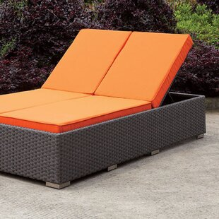 Brayden Studio Hutchison Double Chaise Lounge