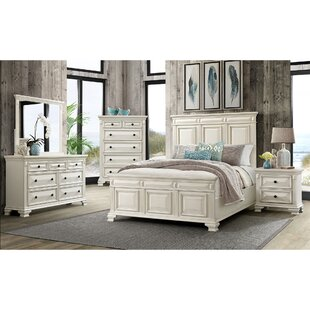 Cheadle Panel 4 Piece Bedroom Set by DarHome Co Wonderful
