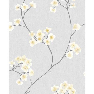 Ophelia & Co. Judith Gap 33' x 20 Radiance Wallpaper Roll Color: Grey/Ochre