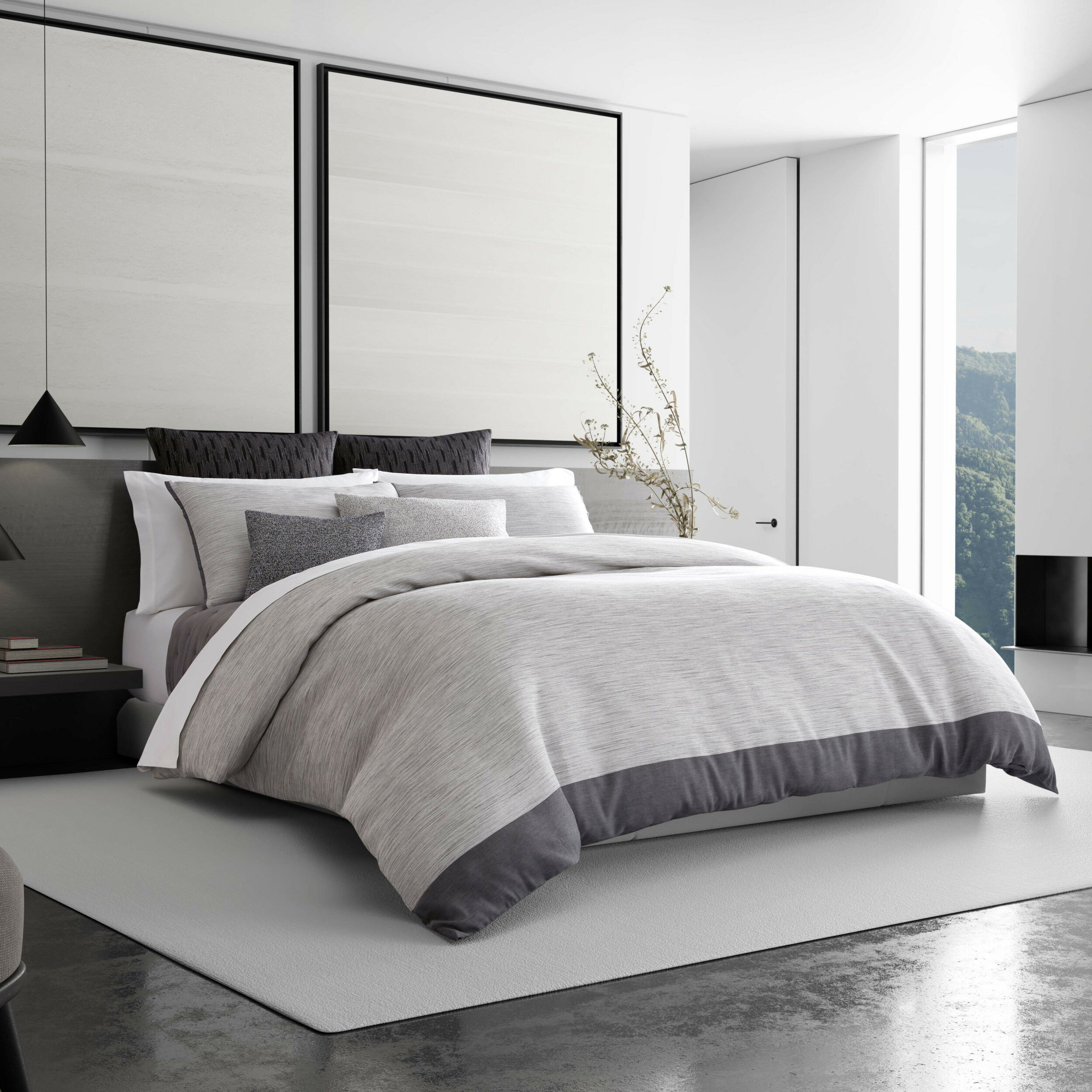 Vera Wang Single Reversible Duvet Cover Wayfair