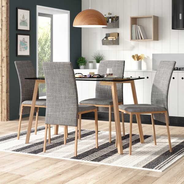 Dining Table And Grey Chairs Wayfair Co Uk