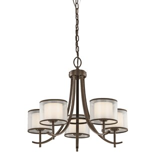 Taasi Chandelier in Mission Bronze by Kichler