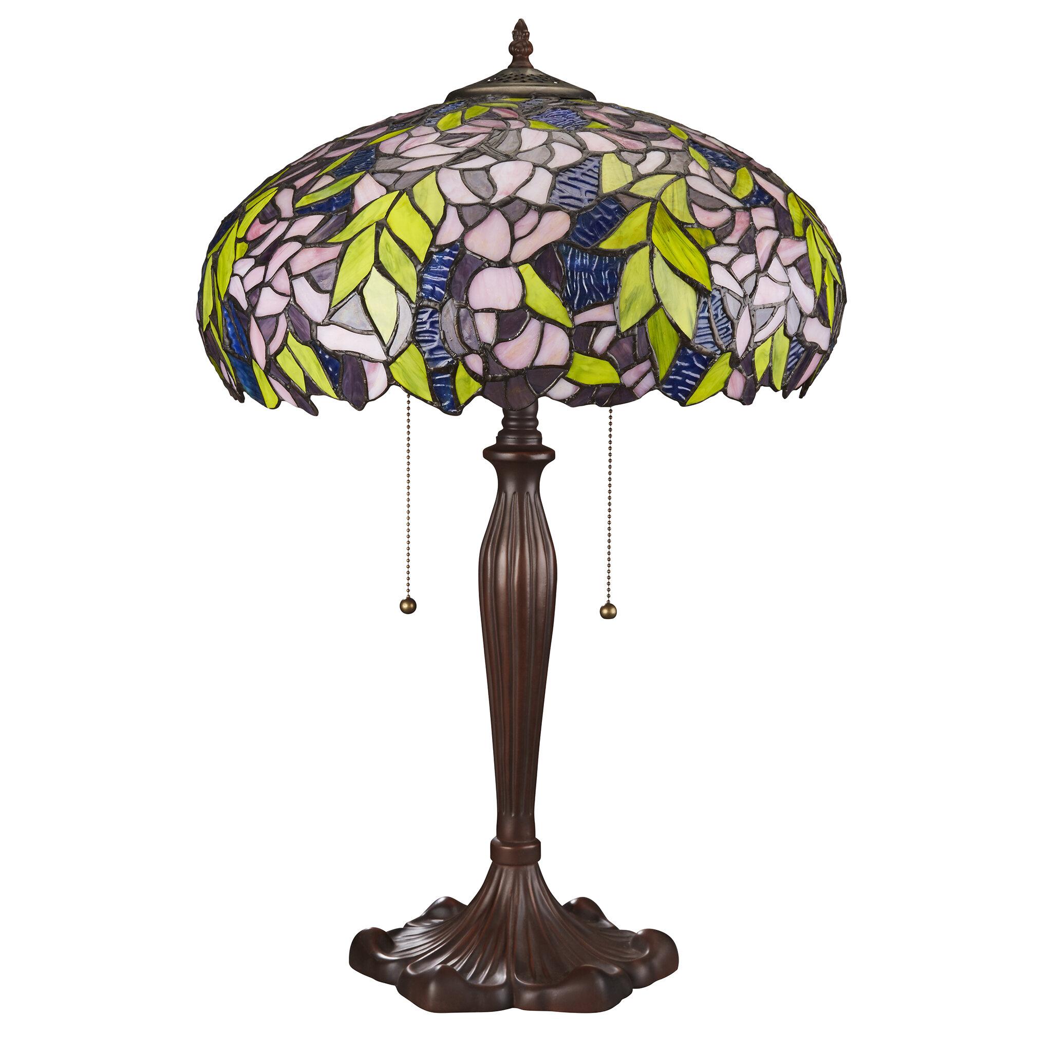 Design Toscano Art Nouveau Wisteria 25 Table Lamp Wayfair