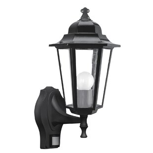 Waddell Outdoor Wall Lantern With PIR Sensor By Brambly Cottage