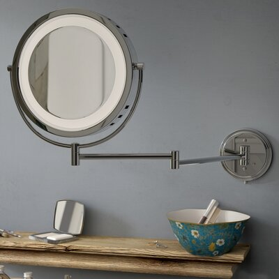 Makeup Amp Shaving Nickel Mirrors You Ll Love In 2020 Wayfair