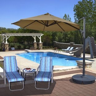 Island Umbrella Freeport 11' Cantilever Umbrella