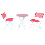 Tadcaster Outdoor Folding 3 Piece Bistro Set