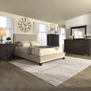 Three Posts Woodside Panel Configurable Bedroom Set