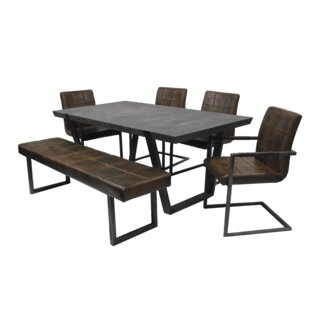 Tenbury 6 Piece Dining Set Williston Forge