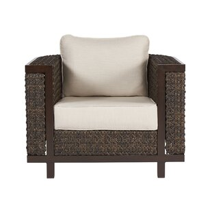 Asphod?le Wicker Armchair by Gracie Oaks