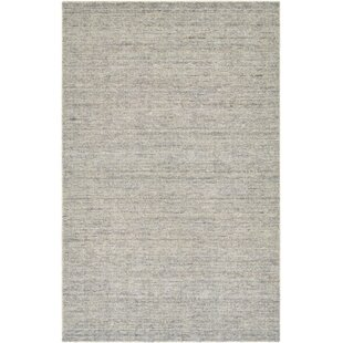 Afton Hand-Loomed Gray/Silver Area Rug byBeachcrest Home
