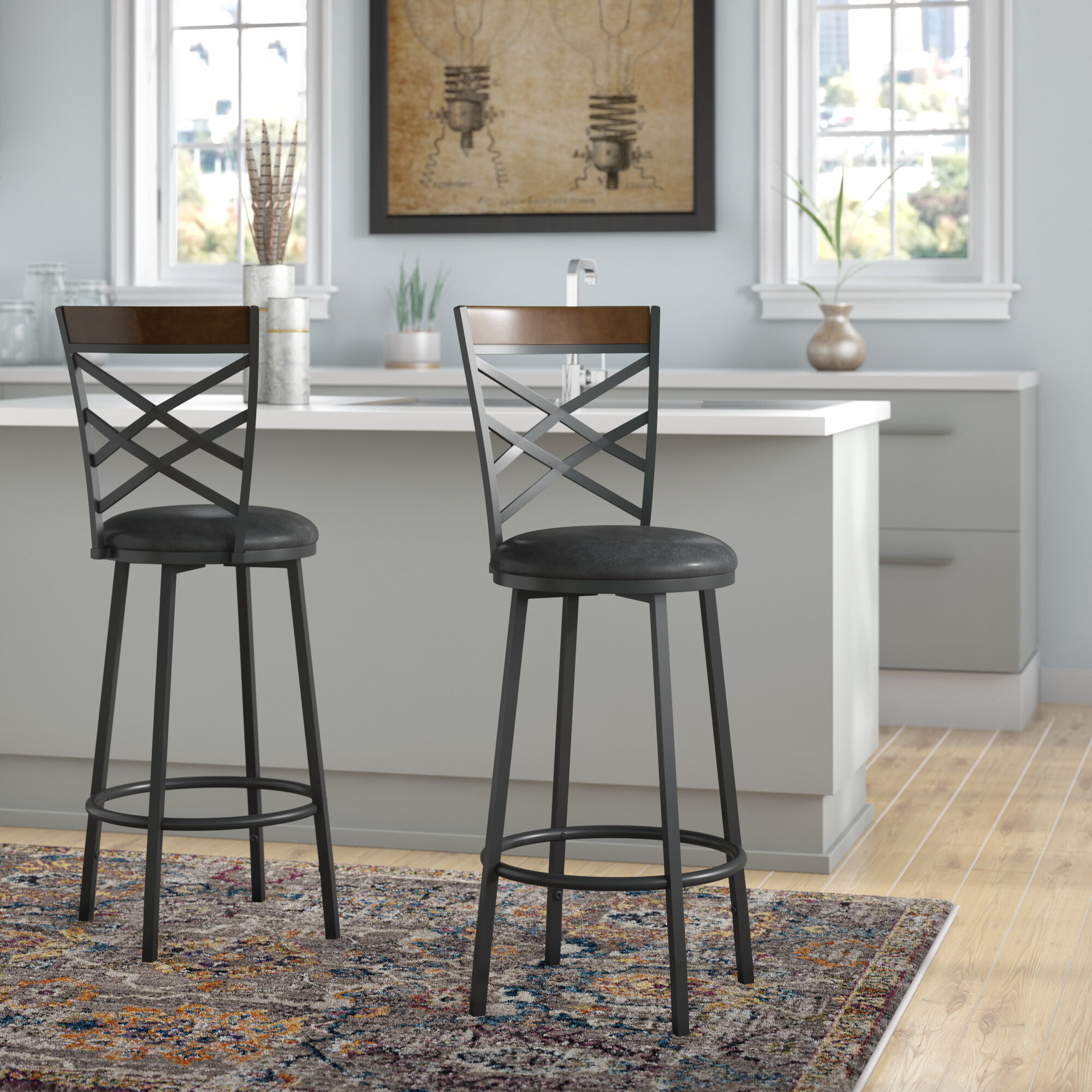 Millwood Pines Bar Stools Counter Stools You Ll Love In 2021 Wayfair